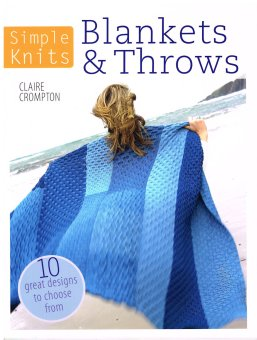Knitted Blankets and Throws Claire Crompton
