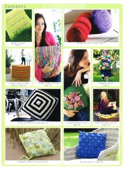 Simply Knits Cushions and Throws Contents Claire Crompton