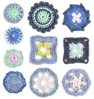 200 Crochet Flowers motifs Claire Crompton