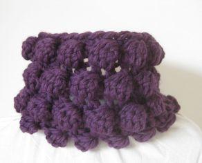 Crochet Bobble Cowl Claire Crompton