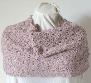 Crochet Flower Lace Cowl Claire Crompton