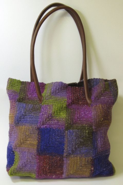 Crochet Mitred Squares Bag Claire Crompton