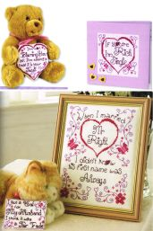 Naughty but Nice cross stitch love Claire Crompton