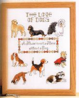 Picture Your Pet cross stitch dogs Claire Crompton