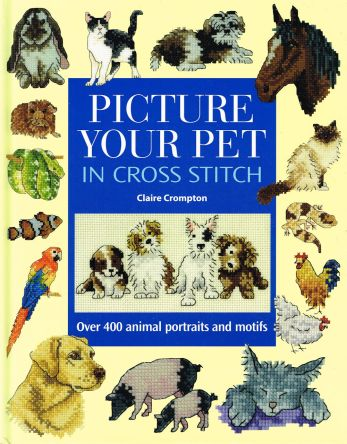 Picture Your Pet in cross stitch Claire Crompton